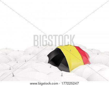 Umbrella With Flag Of Belgium