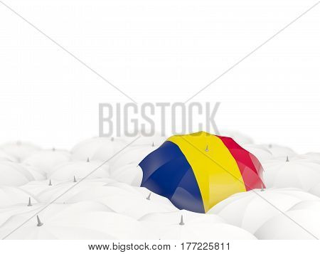 Umbrella With Flag Of Chad