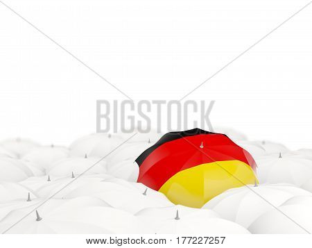 Umbrella With Flag Of Germany