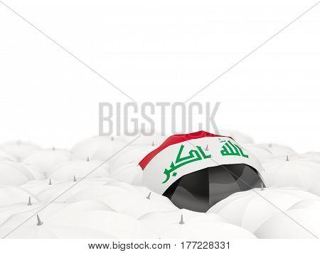 Umbrella With Flag Of Iraq