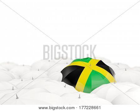 Umbrella With Flag Of Jamaica