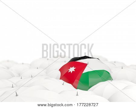 Umbrella With Flag Of Jordan