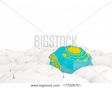 Umbrella With Flag Of Kazakhstan