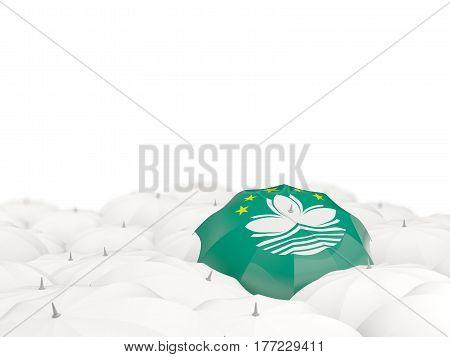Umbrella With Flag Of Macao