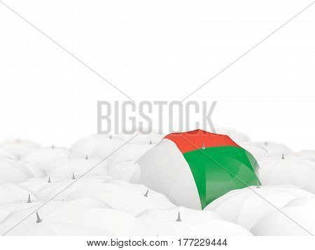 Umbrella With Flag Of Madagascar