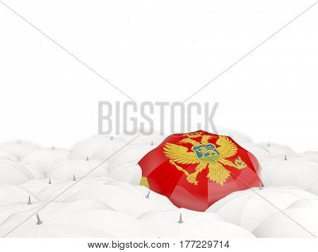 Umbrella With Flag Of Montenegro