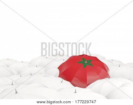 Umbrella With Flag Of Morocco