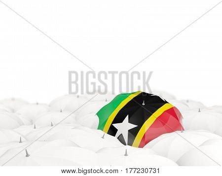 Umbrella With Flag Of Saint Kitts And Nevis