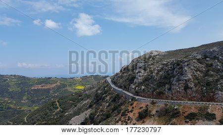 Mount Ida in the Isle of Crete, Greece