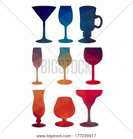 glass vector wine glass alcohol wine champagne