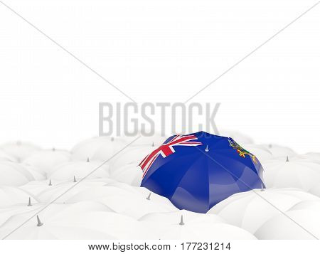 Umbrella With Flag Of South Georgia And The South Sandwich Islands