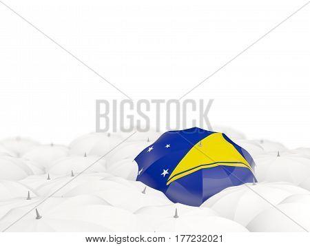 Umbrella With Flag Of Tokelau