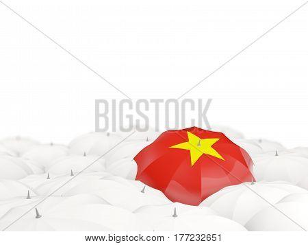 Umbrella With Flag Of Vietnam