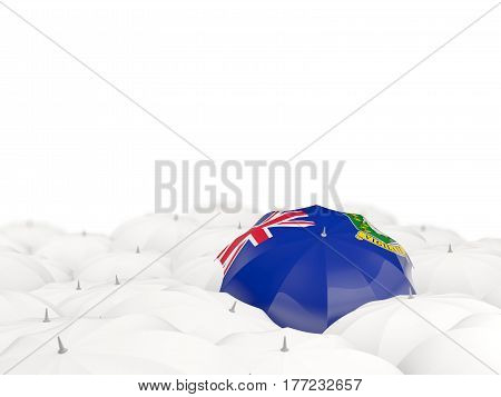 Umbrella With Flag Of Virgin Islands British