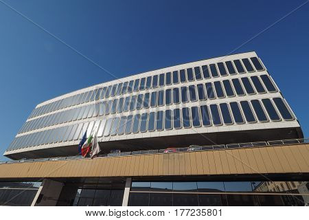 Commerce Chamber In Turin