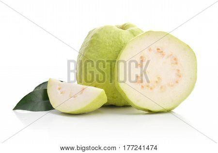 Fresh Ripe Guavas