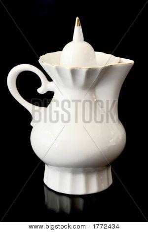 White Teapot