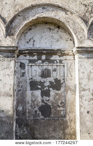 Old Grungy Arch In A Wall, For Backgrounds