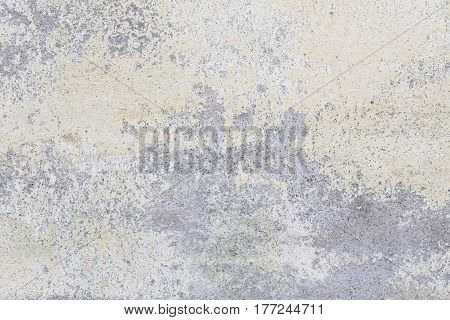 old plastered wall with shabby paint for backgrounds and compositions