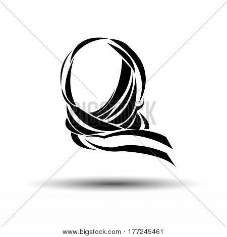vector muslim islam islamic arab arabian veil