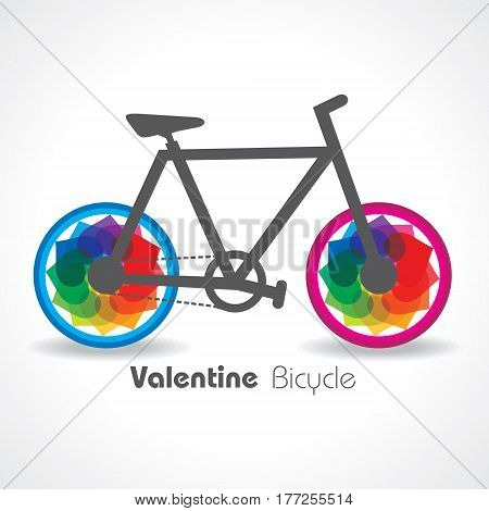 Valentine Day Greeting with hand emitting hearts stock vector