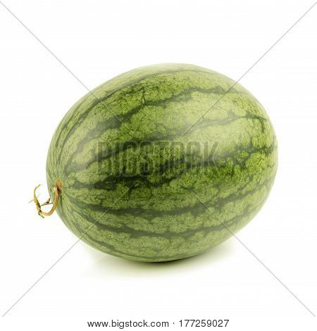 red Watermelon, Watermelon isolated on white background.