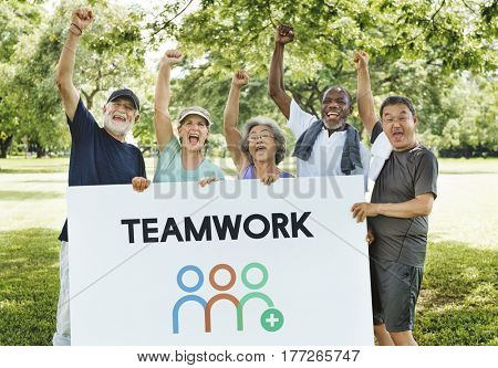 Teamwork Shared Goals Togetherness Collaboration