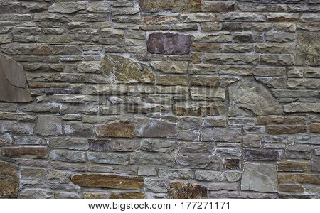 Natural Stone Wall Texture For Background