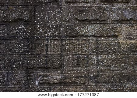 Old Dirty Brick Wall  Can Use For Background