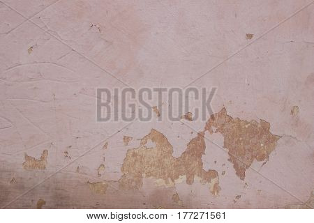 Old Painted Wall Can Use For Background