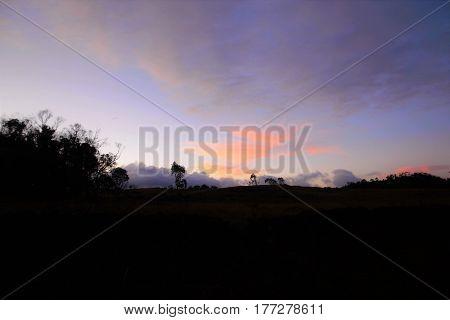 Sunset Easter Island