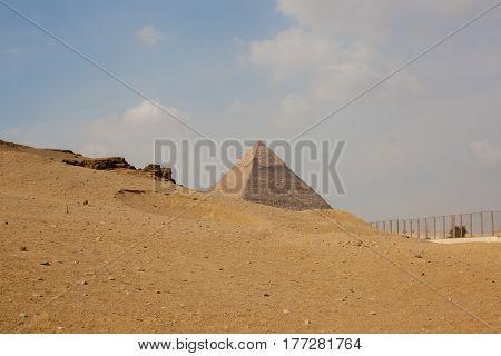 Egypt, Cairo Nov 2012: Giza Pyramid.