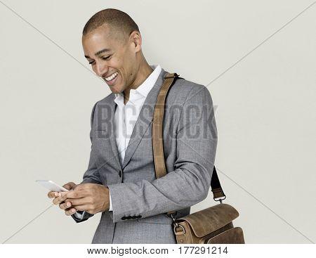 African Descent Business Man Concept