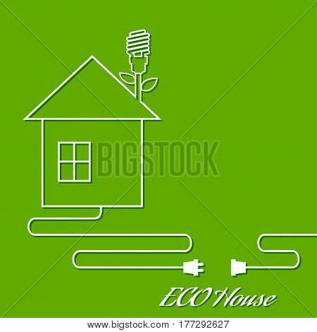 House abstract real estate logo design template. Realty theme icon. Building vector silhouette. Outline.