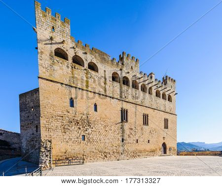 The Castle In Valderrobres, Spain