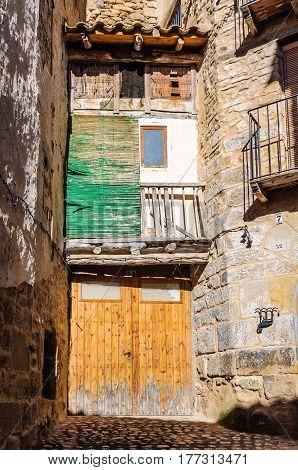 Small house in Valderrobres in Aragon Spain