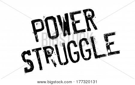 Power Struggle rubber stamp. Grunge design with dust scratches. Effects can be easily removed for a clean, crisp look. Color is easily changed.
