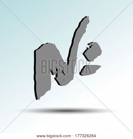 vector, symbol, design, new, sign, number, digital sign