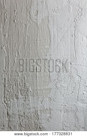 Texture of plastered concrete wall