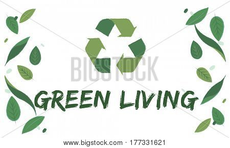Ecology Fresh Green Living Lush Natural Icon