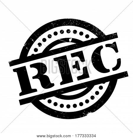 Rec rubber stamp. Grunge design with dust scratches. Effects can be easily removed for a clean, crisp look. Color is easily changed.