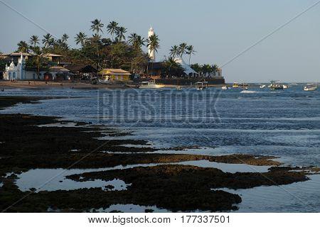 Beach in Praia do Forte - Bahia, Brazil
