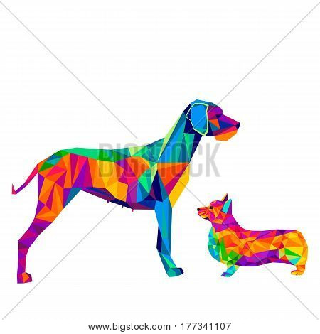 dog animal puppy pet vector black graphic