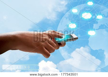 Using mobile phone and selecting cloud technology