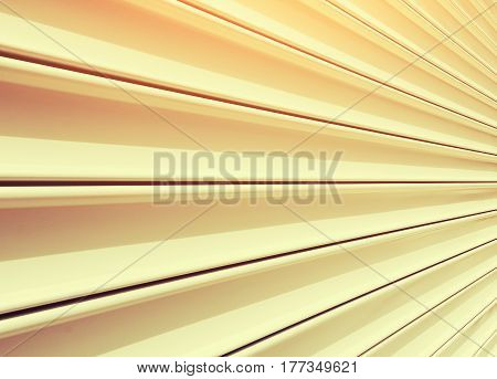 Texture of shutter door or roller door use for background.