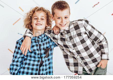 Two Happy Boys