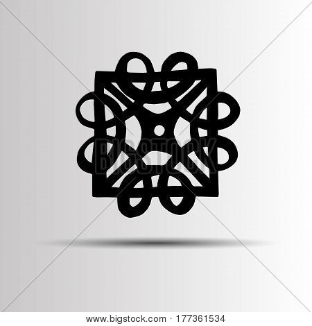 vector celtic sign design symbol logo element abstract knot icon tattoo