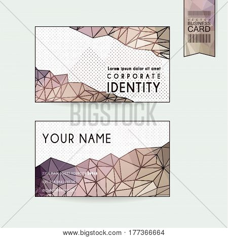 Gorgeous Business Card Design Template