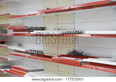 Installation Of Racks For Trade, Assembly And Disassembly