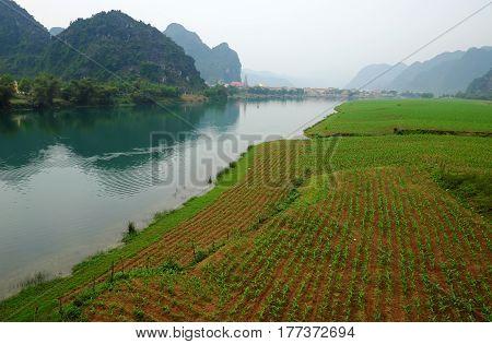 Amazing Natural Landscape At Quang Binh, Viet Nam